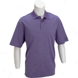Nike Dri-fit 3 Color Stripe Polo