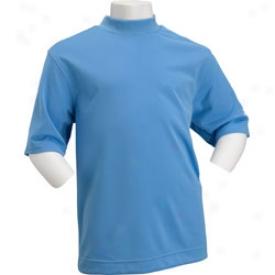 Nike Jr. Dri Fit Uv Tech Short Sleee Mock