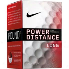 Nike Logo Power Distance Long 2009 Balls