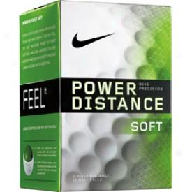 Nike Logo Power Distance Soft 2009 Balls