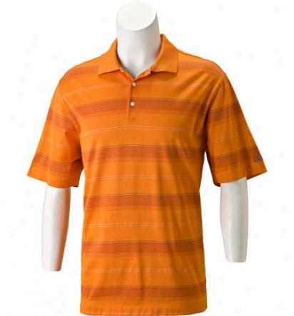 Nike Men S Dri-fit Textured Stripe Polo