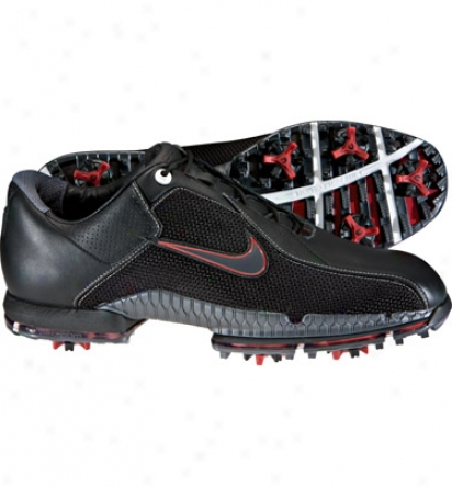Nike Men S Tw Air Zoom 2010 - Black/gunmetal/black