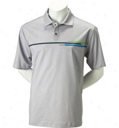Nike Men S Tw Dri-fit Chest Print Polo