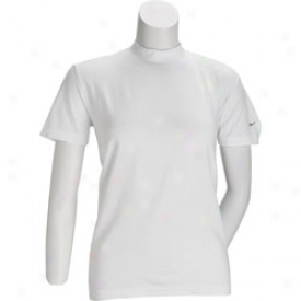 Nike Seamless Short Sleeve Mock