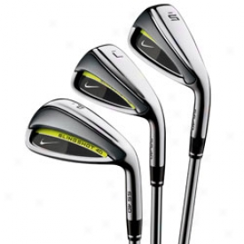 Nike Slingshot 4d 4-gw Iron Set W/ Graphite Stem