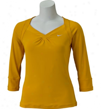 Nike Tennis Love Game 3/4 Sleeve Top
