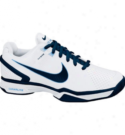 Nike Tennis Lunarlite Vapor Journey - White/navy/blue