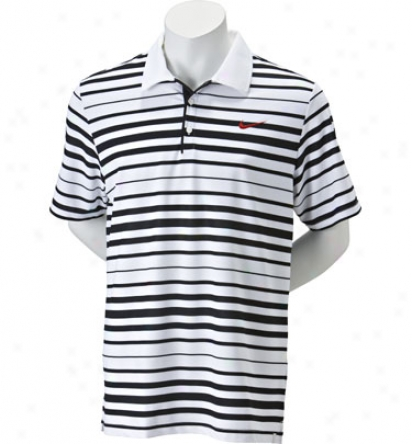 Nike Tennis Men S Back Spin Stripe Polo