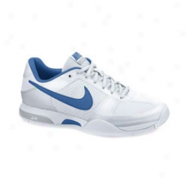 Nike Tennis Women S Air Malia - White/blue/silver