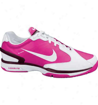 Nike Tennis Women S Lunarlite Speed 2 - White/pink