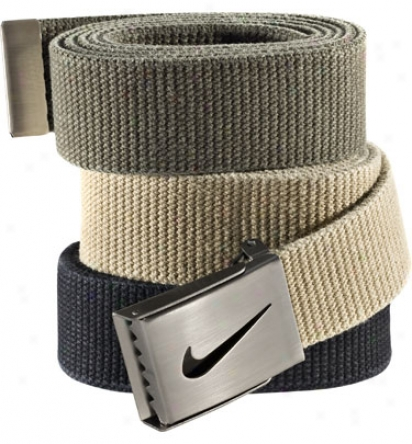 Nike Three-pack Webbing Belt