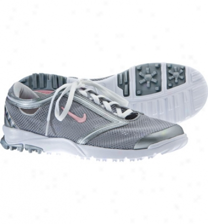 Nike Women S Air Summer Lite iIi - Metallic Silver/pink/white