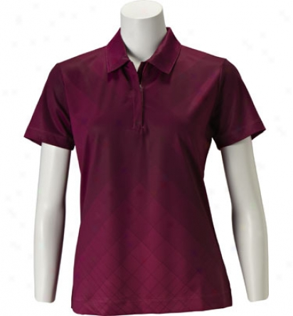 Nike Women S Gradient Prinnt Polo