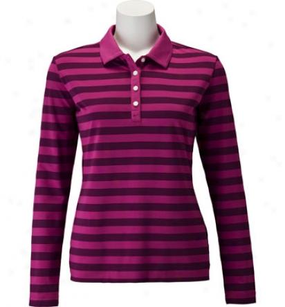 Nike Womens Sp Tech Long Sleeve Polo