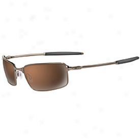 Oakley Square Wire Brown Chrome / Vr28 Black Iridium