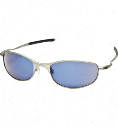 Oakley Wire Framed Sunglasses - Light With Ice Iridium