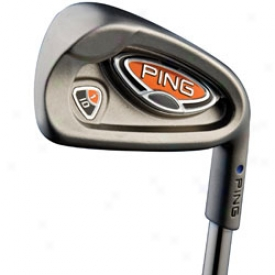 Preowned Ping I10 3-pw Iron Set With Steel Shaft