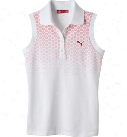 Puma Sleeveless Graphic Polo