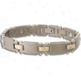 SabonaT itanium Duet Magnetic Bracelet