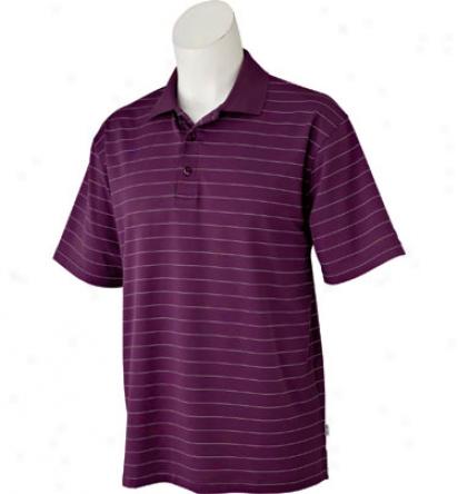 Snake Eyes Men S Dry 18 Short Sleeve Perfect Stripe Polo