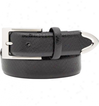 Snake Eyes Men S Embossed Snake Skin Belt