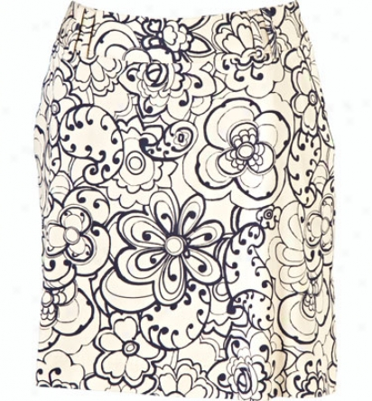 Sport Haley Women S 18   Floral Print Skirt
