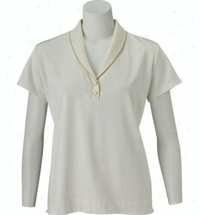Sport Haley Women S Short Sleeve Polo With Shawl Collar