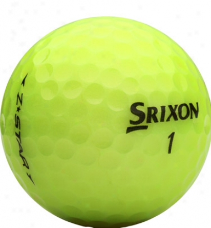 Srixon Z Star Tour Yellow