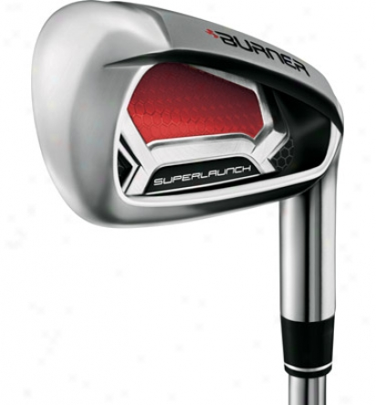 Taylormade Burner Super Launch Rescue Hybrid Combo Set 4h, 5h, 6-pw, Aw With Graphite Shafts