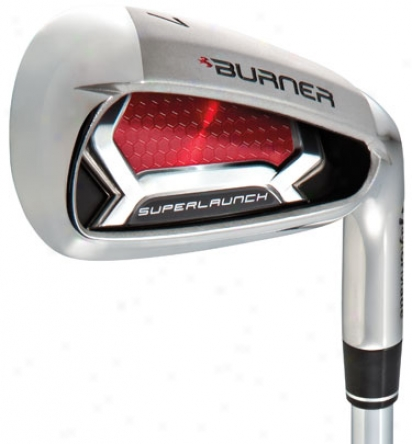 Taylormade Burner Superlaunch Iron Set 3-pw With Steel Shafts