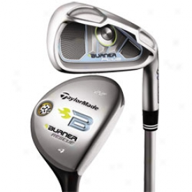 Taylormade Lady Burner Plus Combo Set 4h, 5h 6-pw, Sw With Graphite Shafts