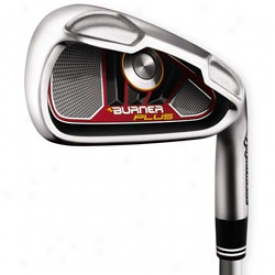 Tayolrmade Preowned Burner Plus Iron Set 4-pw, Gw With Graphite Shafts