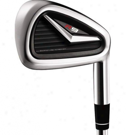 Taylormade R9 Iron Set 4-pw, Gw With Steel Shafts