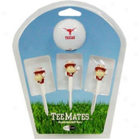 Team Golf 3 Mascot Tee And Ball Gift Pack