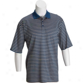 Tehama Doulble Mercerized Braden Stripe Men S Golf Polo