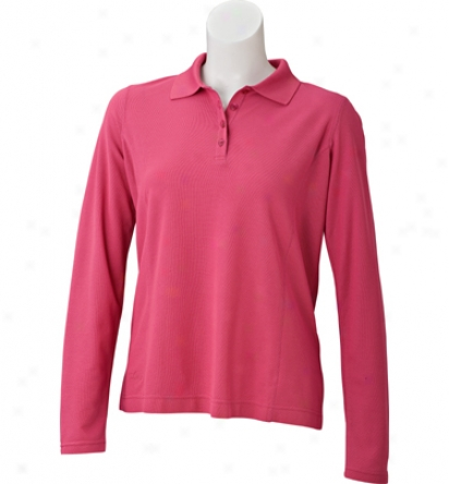 Tehama Women S Protracted Sleeve Polo