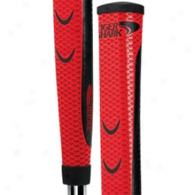 Tiger Shark Jumbo Red Putter Grip