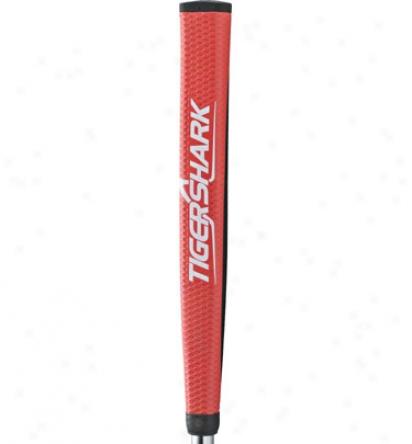 Tiger Shark Ultratac Red Putter Grip