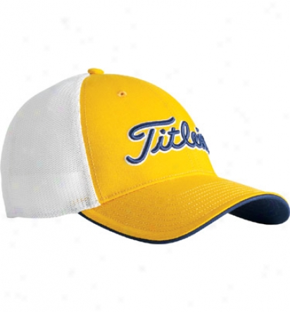 Titleist Fitted Stretch Mesh Cap