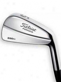 Titleist Preowned 690 Forged Muscleback W/ Steel - 3-pw