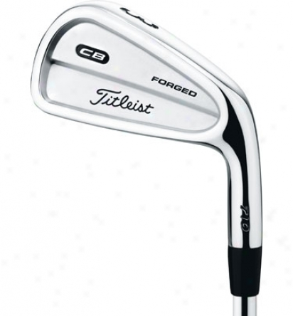 Titleist Preowned Cb 710 Iron Set 3-pw With Steel Shafts