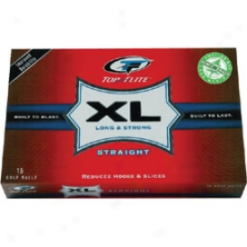 Top Flite Xl Straight 15 Pack
