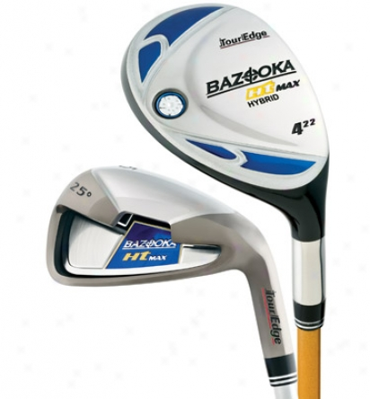 Tour Edge Bazooka Ht Combo Immovable 4h, 5h, 6-sw With Graphite Shafts