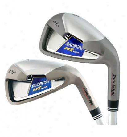 Tour Edge Bazooka Ht Max Iron Set 4-pw With Steel Shafts