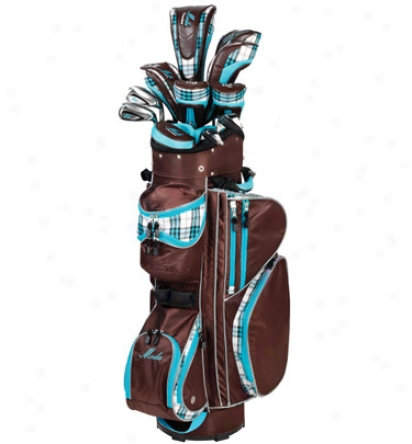 Tour Edge Lady Moda Silk Full Set Sky Blue