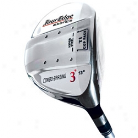 Tour Edge Preowned Exotics Fairway Wood With Graphite Shaft