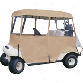 Tour Trek 4 Sided Deluxe Golf Cart Cover The Web Sport