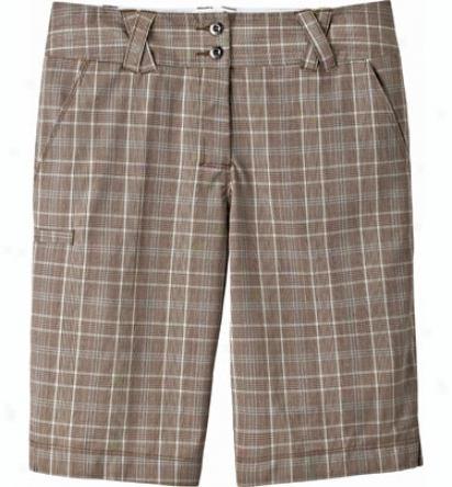 Trigelle Women S 21  Plaid Bermuda Short