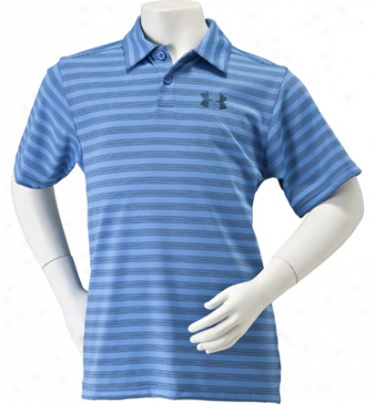 Under Armour Boy S Classic Redbud Polo