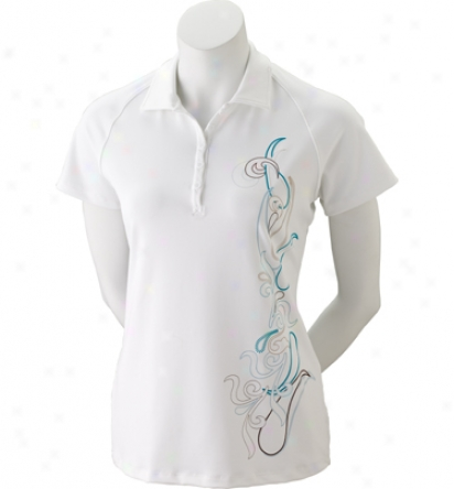 Under Armour Short Sleeve Control Print Polo
